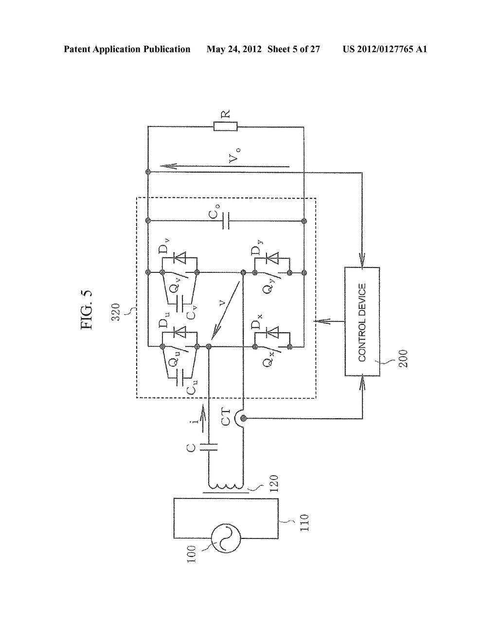CONTACTLESS POWER TRANSFER SYSTEM AND CONTROL METHOD THEREOF - diagram, schematic, and image 06