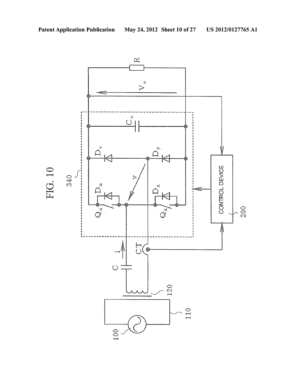 CONTACTLESS POWER TRANSFER SYSTEM AND CONTROL METHOD THEREOF - diagram, schematic, and image 11