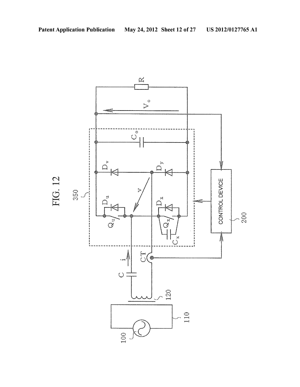 CONTACTLESS POWER TRANSFER SYSTEM AND CONTROL METHOD THEREOF - diagram, schematic, and image 13
