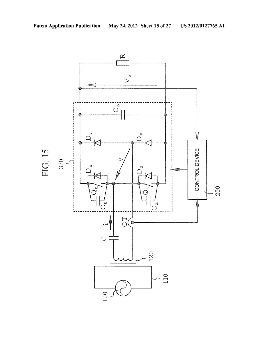 CONTACTLESS POWER TRANSFER SYSTEM AND CONTROL METHOD THEREOF - diagram, schematic, and image 16