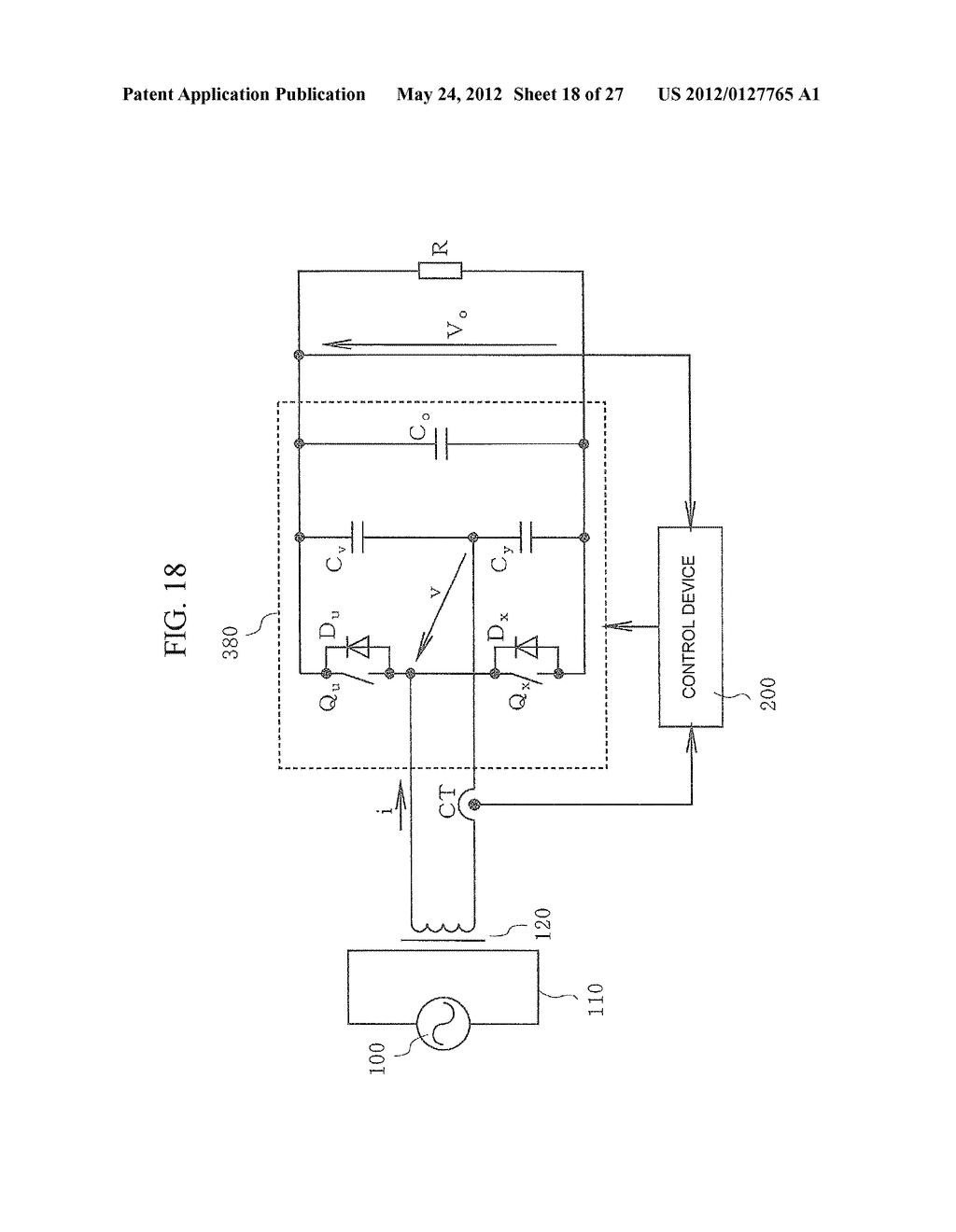 CONTACTLESS POWER TRANSFER SYSTEM AND CONTROL METHOD THEREOF - diagram, schematic, and image 19