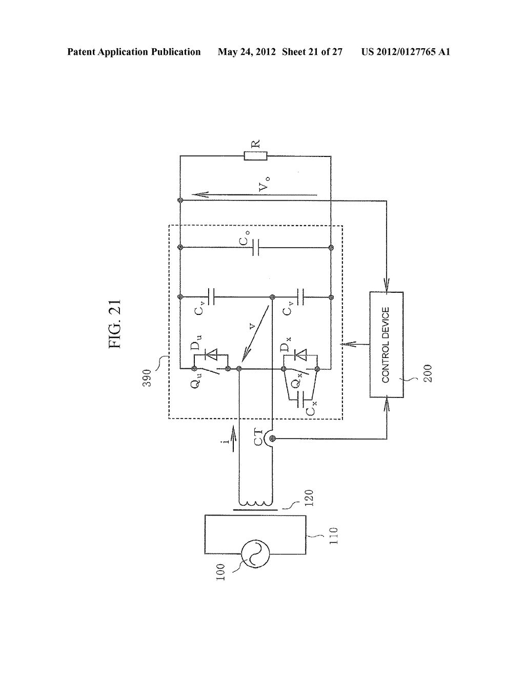 CONTACTLESS POWER TRANSFER SYSTEM AND CONTROL METHOD THEREOF - diagram, schematic, and image 22