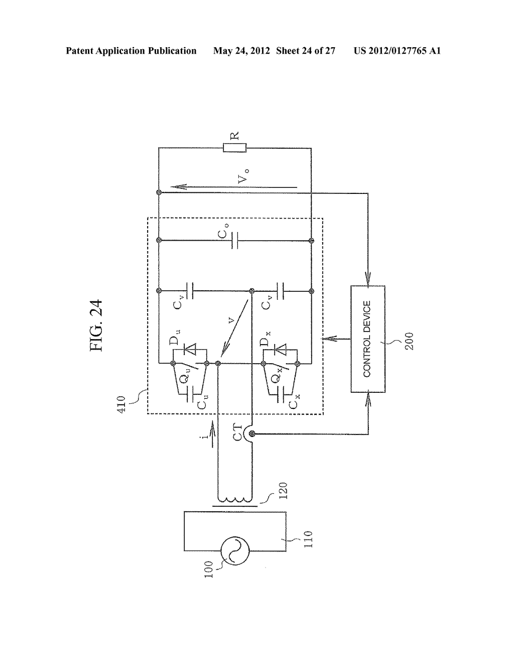CONTACTLESS POWER TRANSFER SYSTEM AND CONTROL METHOD THEREOF - diagram, schematic, and image 25