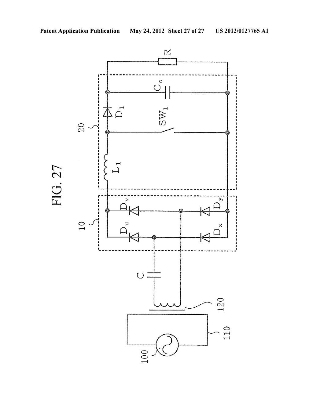 CONTACTLESS POWER TRANSFER SYSTEM AND CONTROL METHOD THEREOF - diagram, schematic, and image 28
