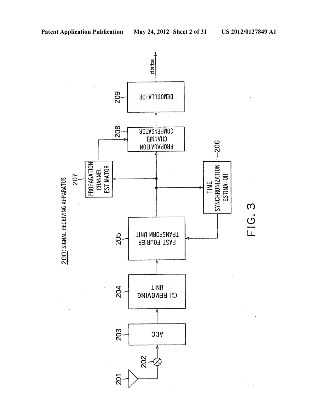 SIGNAL RECEIVING APPARATUS AND COMMUNICATION SYSTEM - diagram, schematic, and image 03