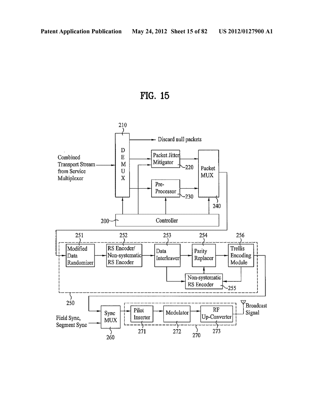 DIGITAL BROADCAST SYSTEM FOR TRANSMITTING/RECEIVING DIGITAL BROADCAST     DATA, AND DATA PROCESSING METHOD FOR USE IN THE SAME - diagram, schematic, and image 16