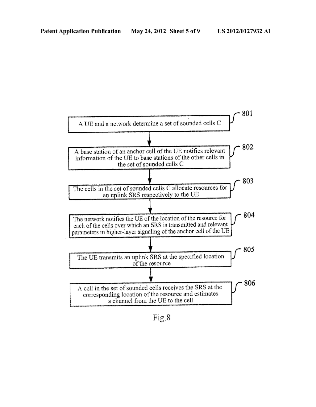 METHOD AND DEVICE FOR TRANSMITTING SOUNDING REFERENCE SIGNAL - diagram, schematic, and image 06