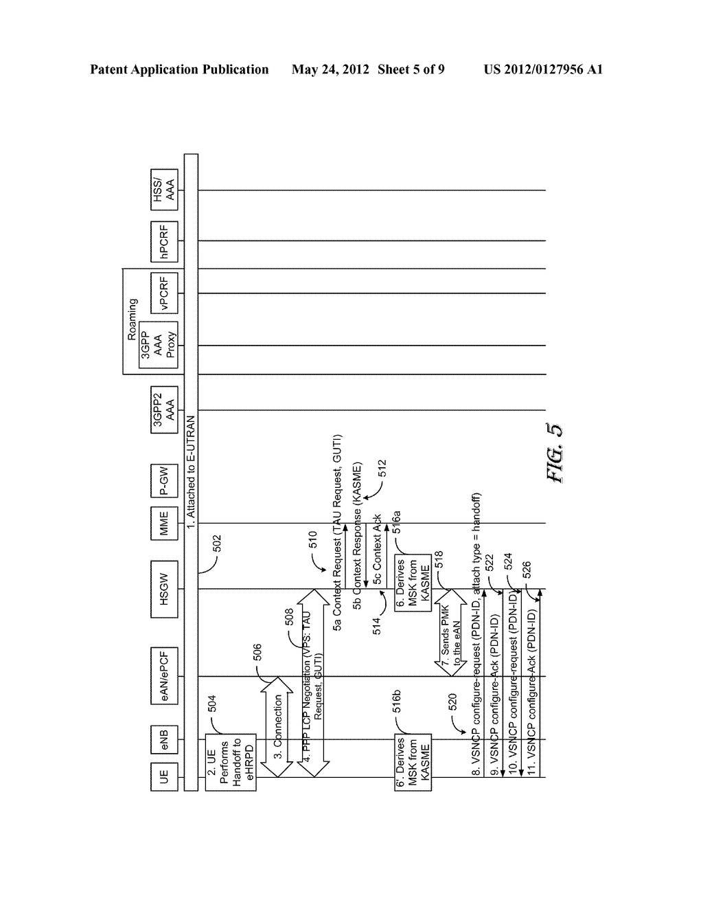 APPARATUS AND METHOD FOR ENHANCED NON OPTIMIZED HANDOVER - diagram, schematic, and image 06