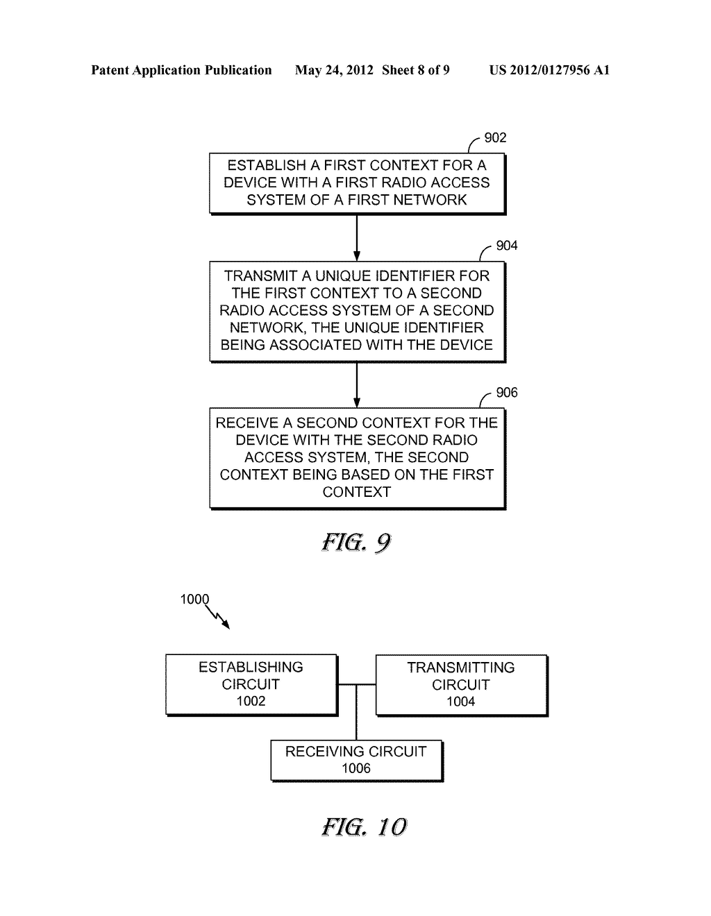 APPARATUS AND METHOD FOR ENHANCED NON OPTIMIZED HANDOVER - diagram, schematic, and image 09