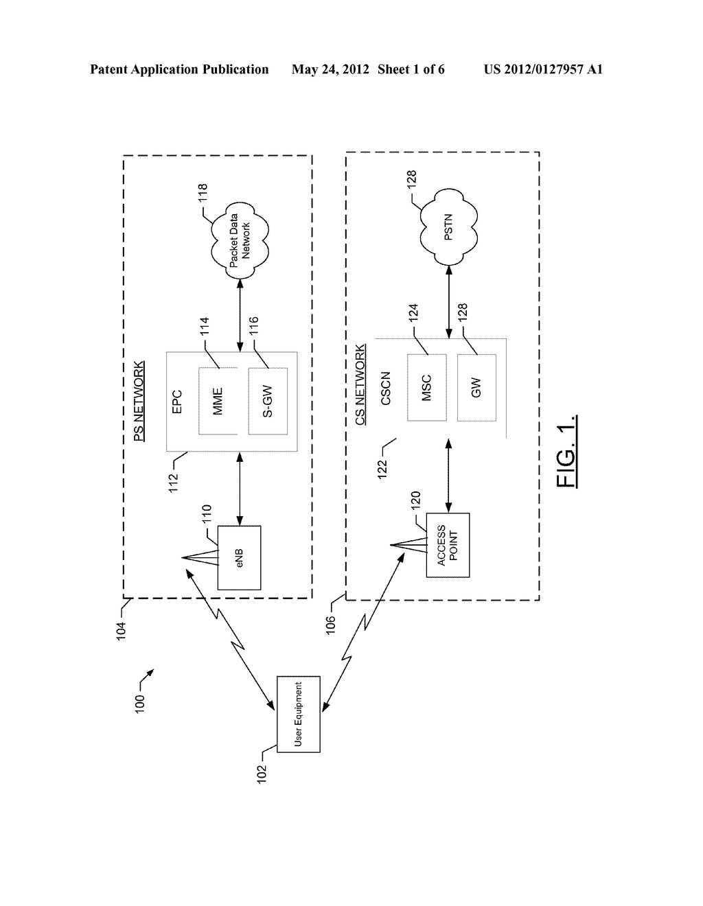 Systems, Methods, and Apparatuses for Facilitating a Circuit Switched     Connection - diagram, schematic, and image 02