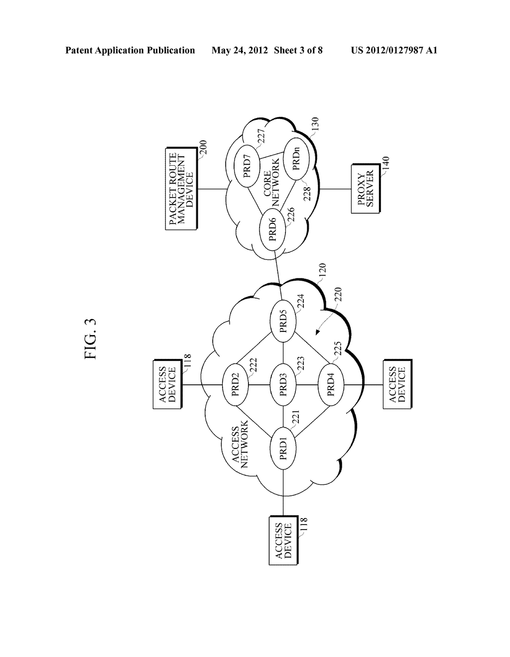 PACKET ROUTE MANAGEMENT DEVICE, VoIP SYSTEM AND METHOD OF CONTROLLING VoIP     VOICE CALL QUALITY - diagram, schematic, and image 04
