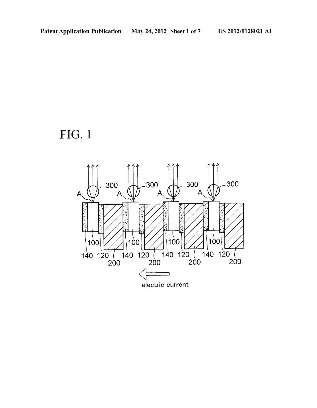 LIGHT EMITTING DEVICE AND PACKAGE COMPONENT - diagram, schematic, and image 02