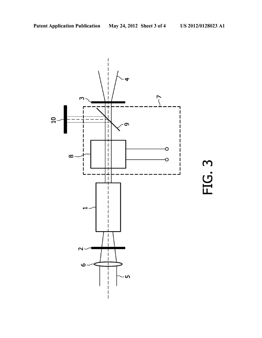SWITCHABLE DUAL WAVELENGTH SOLID STATE LASER - diagram, schematic, and image 04