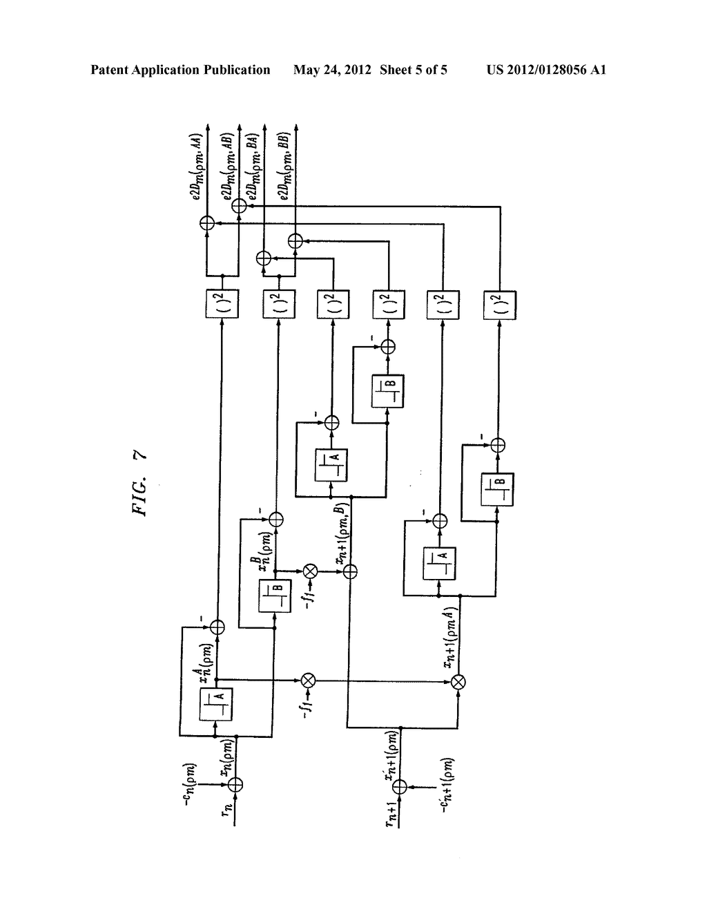METHOD AND APPARATUS FOR JOINT EQUALIZATION AND DECODING OF     MULTIDIMENSIONAL CODES TRANSMITTED OVER MULTIPLE SYMBOL DURATIONS - diagram, schematic, and image 06