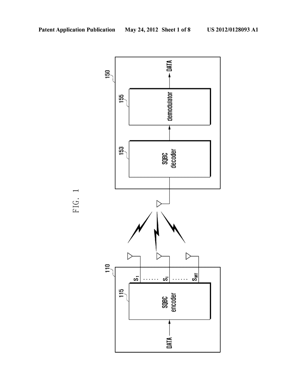 APPARATUS AND METHOD FOR TRANSMITTING/RECEIVING DATA IN MOBILE     COMMUNICATION SYSTEM - diagram, schematic, and image 02
