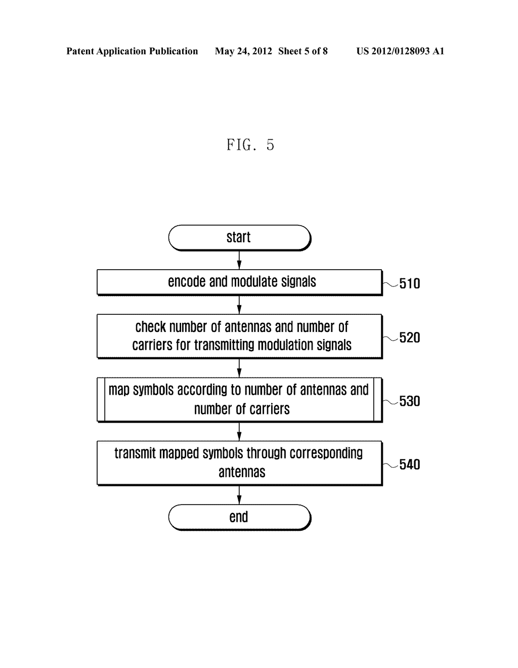 APPARATUS AND METHOD FOR TRANSMITTING/RECEIVING DATA IN MOBILE     COMMUNICATION SYSTEM - diagram, schematic, and image 06