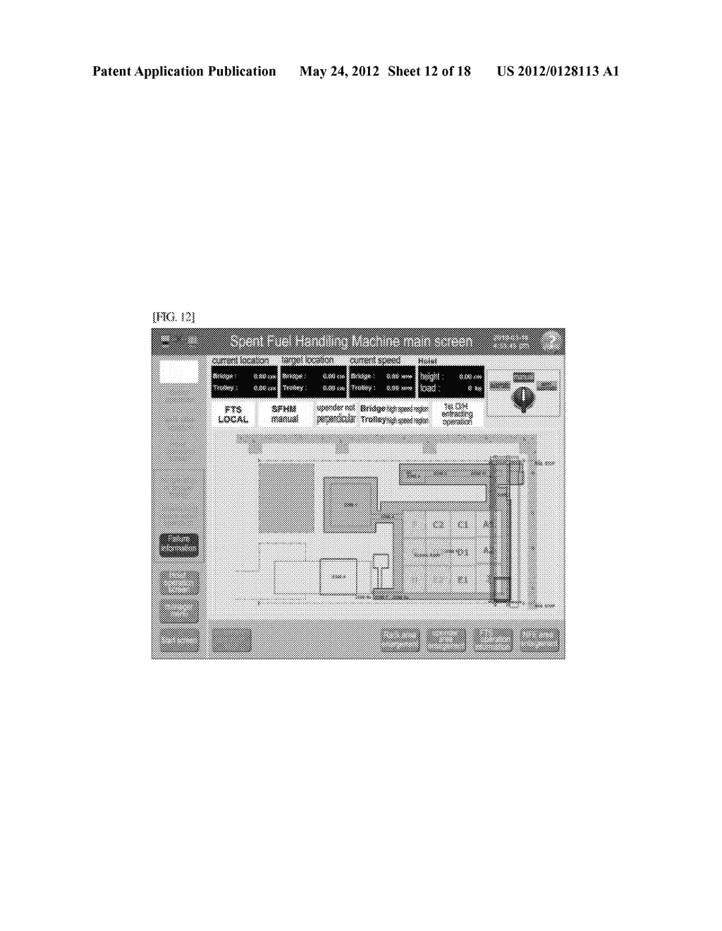 Remote Control System For The Fuel Handling Of Nuclear Power Plant Diagram Schematic And Image 13