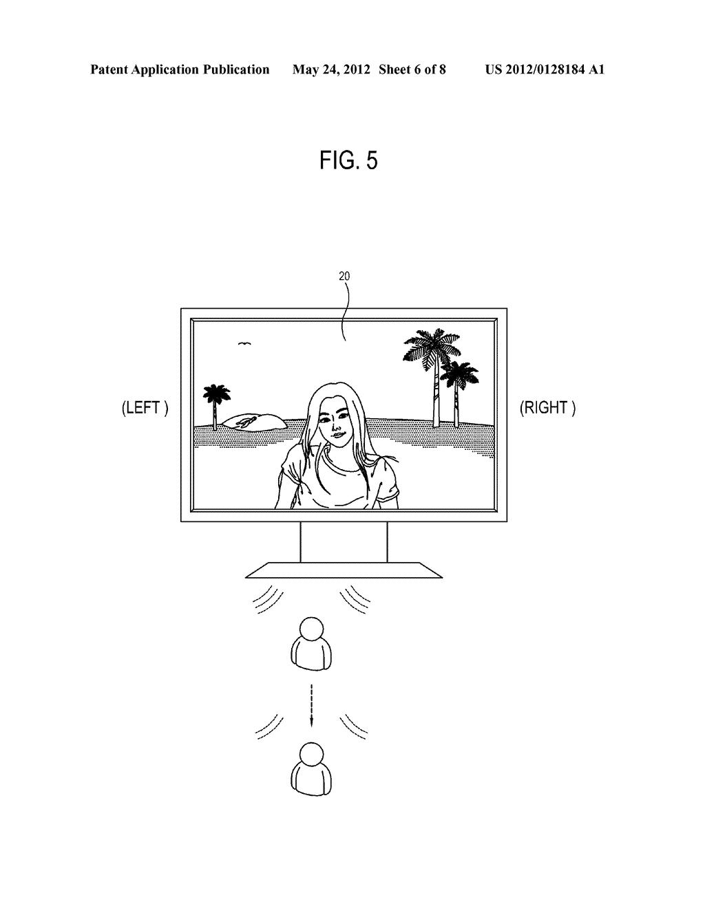 DISPLAY APPARATUS AND SOUND CONTROL METHOD OF THE DISPLAY APPARATUS - diagram, schematic, and image 07