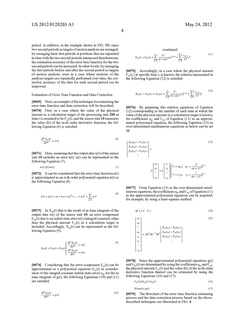 MOTION ANALYZING APPARATUS - diagram, schematic, and image 14