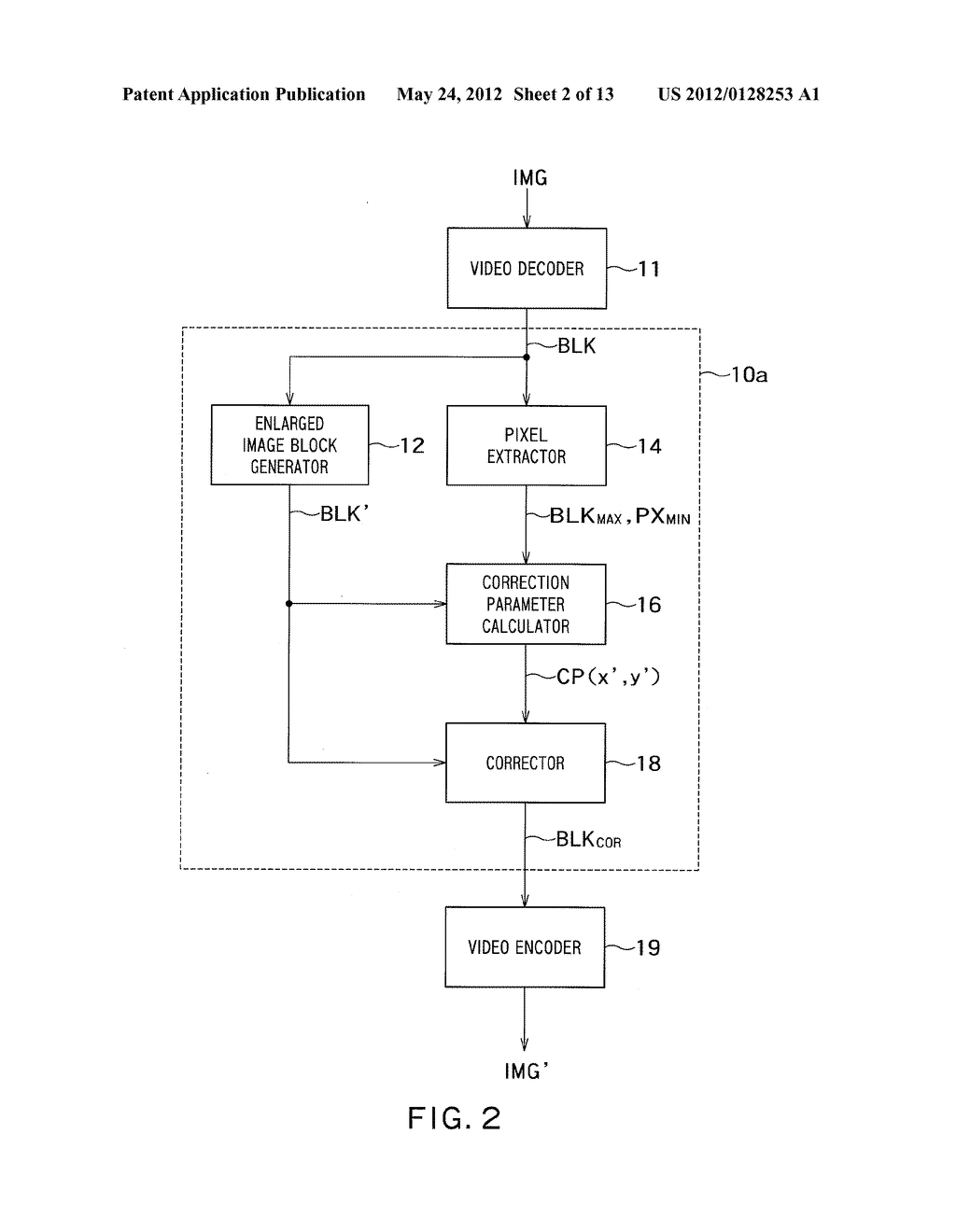 IMAGE PROCESSING APPARATUS, IMAGE PROCESSING SYSTEM AND METHOD FOR     PROCESSING IMAGE - diagram, schematic, and image 03