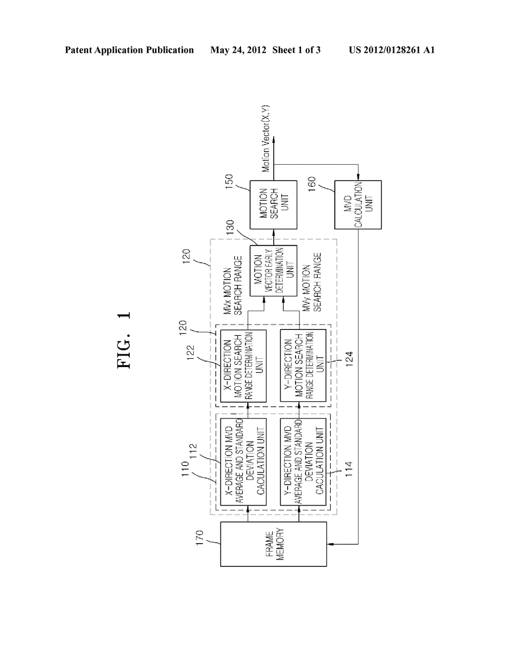 ADAPTIVE MOTION SEARCH RANGE DETERMINING APPARATUS AND METHOD - diagram, schematic, and image 02