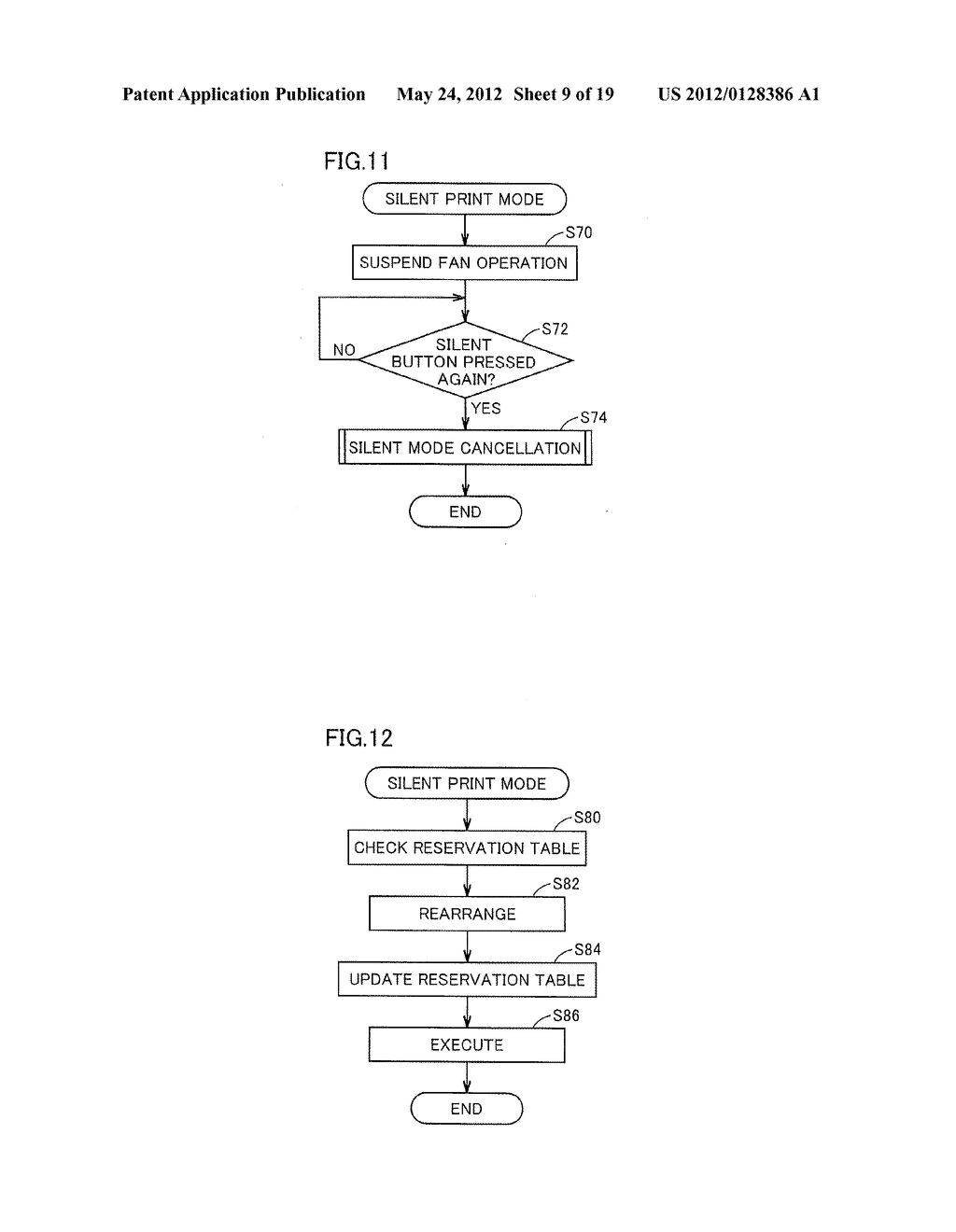 IMAGE FORMING APPARATUS CONTROLLING OPERATION NOISE VOLUME - diagram, schematic, and image 10