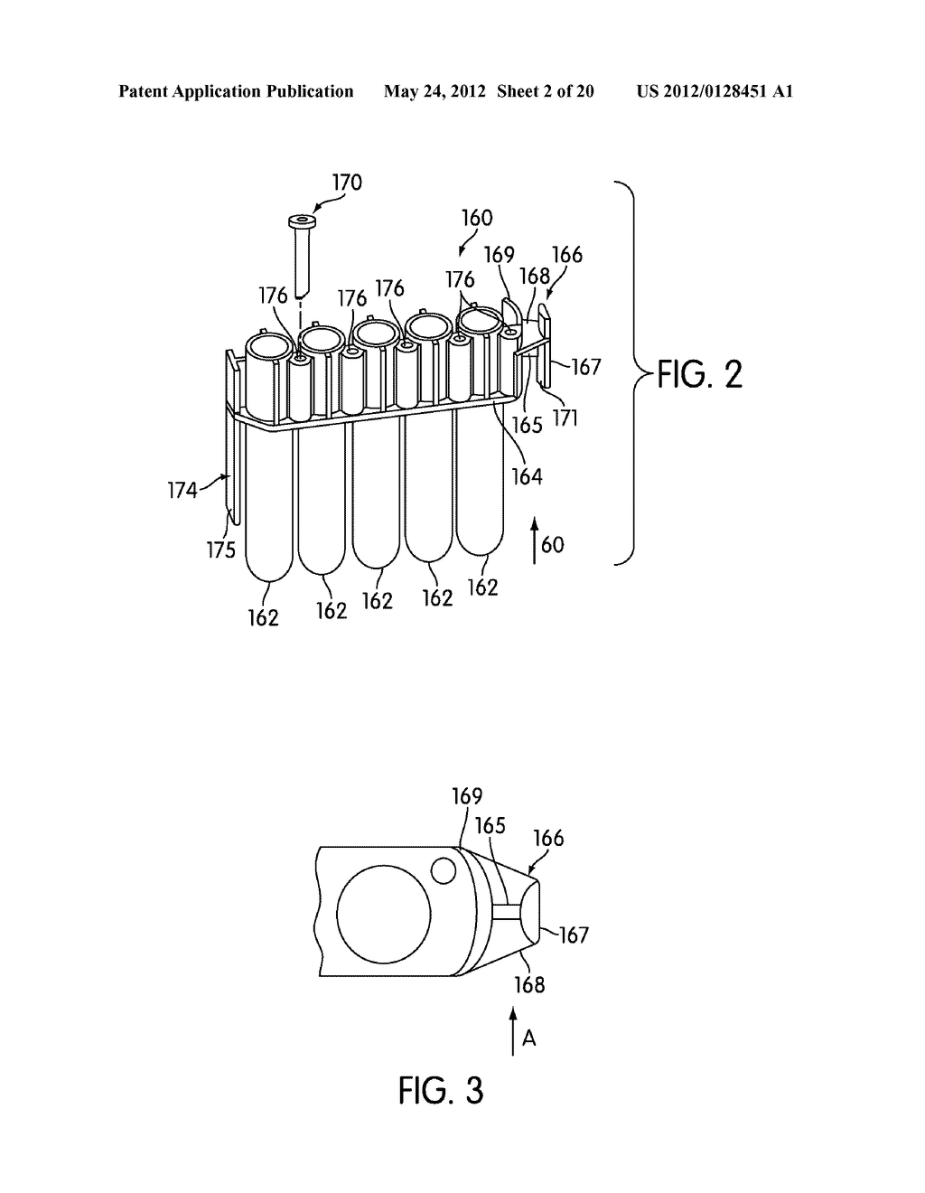 METHOD AND APPARATUS FOR EFFECTING TRANSFER OF REACTION RECEPTACLES IN AN     INSTRUMENT FOR MULTI-STEP ANALYTICAL PROCEDURES - diagram, schematic, and image 03