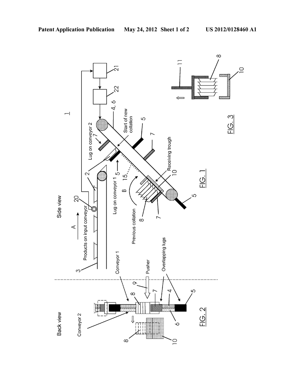 Apparatus and Method for Collating Products - diagram, schematic, and image 02