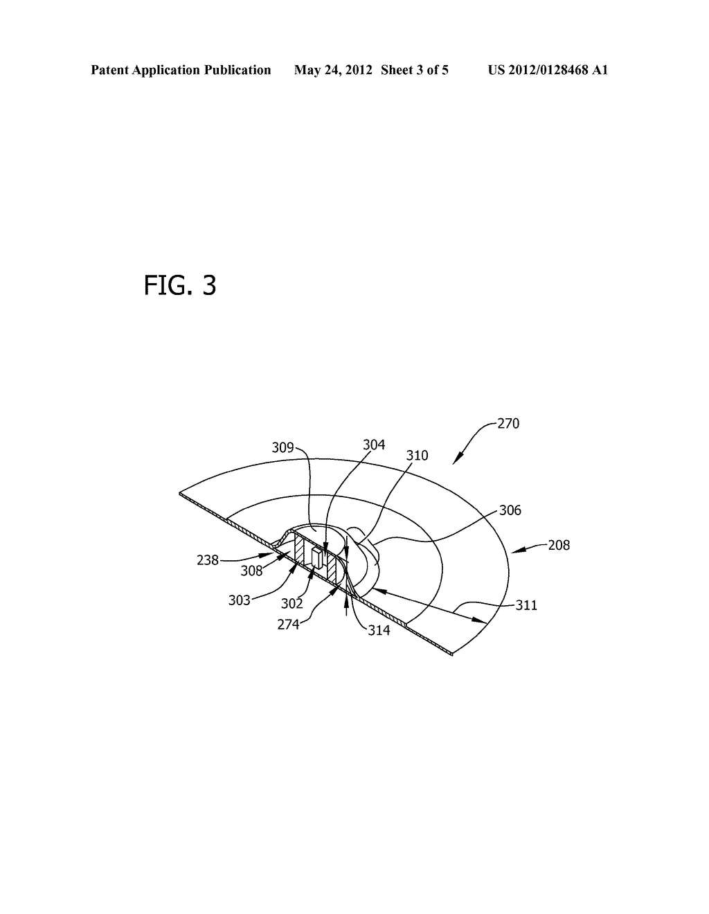 SENSOR ASSEMBLY FOR USE WITH A TURBOMACHINE AND METHODS OF ASSEMBLING SAME - diagram, schematic, and image 04