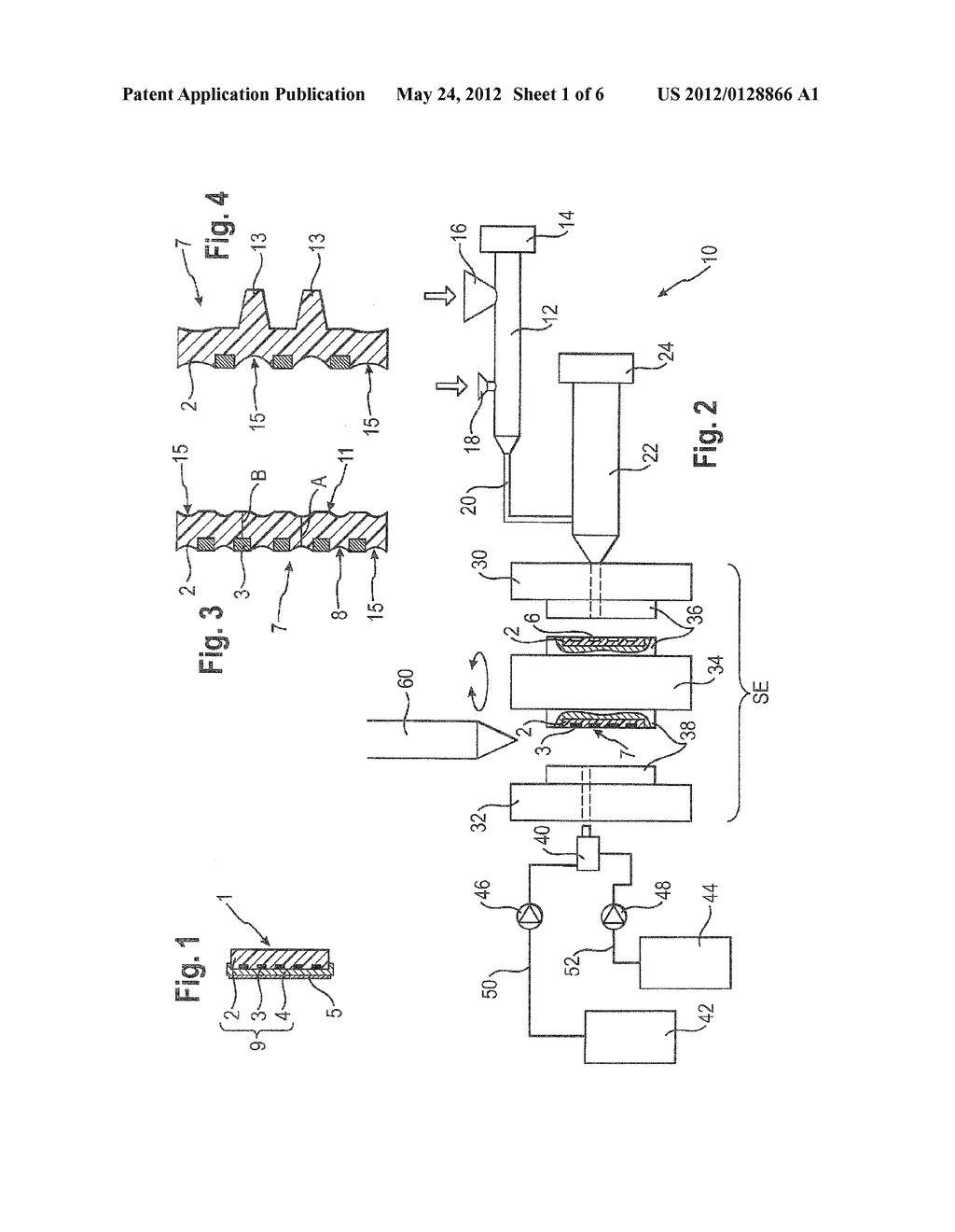 METHOD FOR PRODUCING PLASTIC MOLDED PARTS HAVING AN INTEGRATED CONDUCTIVE     TRACK - diagram, schematic, and image 02