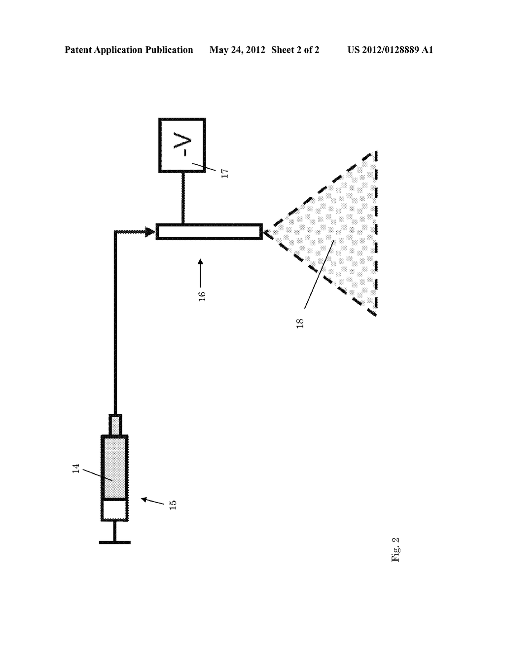 PROCESS AND APPARATUS FOR PRODUCING COATED PARTICLES - diagram, schematic, and image 03