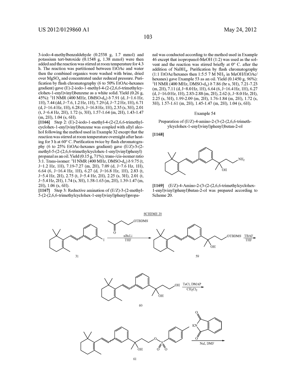 STYRENYL DERIVATIVE COMPOUNDS FOR TREATING OPHTHALMIC DISEASES AND     DISORDERS - diagram, schematic, and image 106