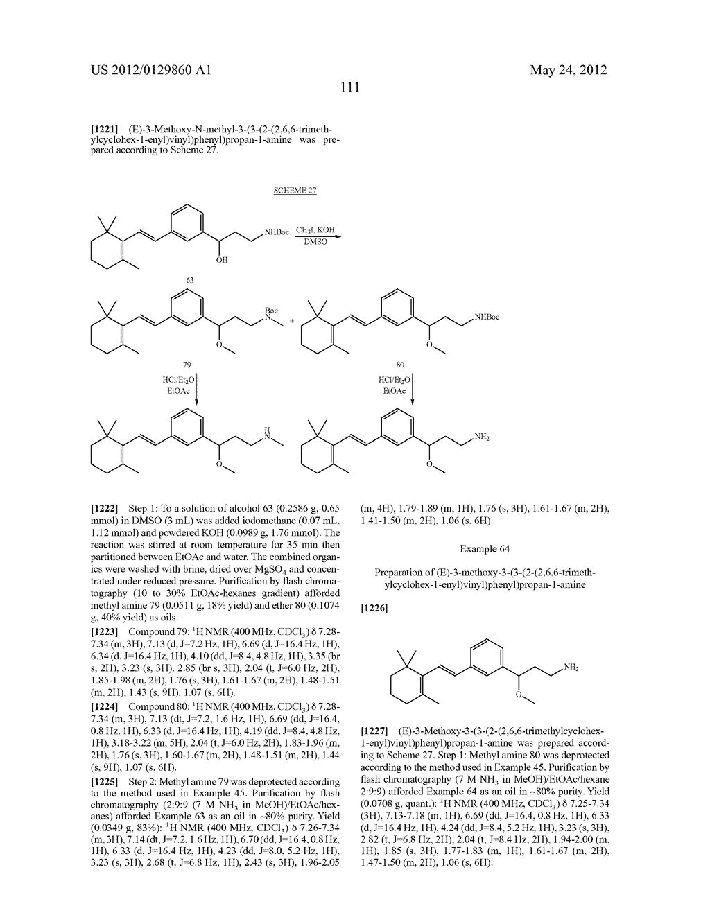 STYRENYL DERIVATIVE COMPOUNDS FOR TREATING OPHTHALMIC DISEASES AND     DISORDERS - diagram, schematic, and image 114
