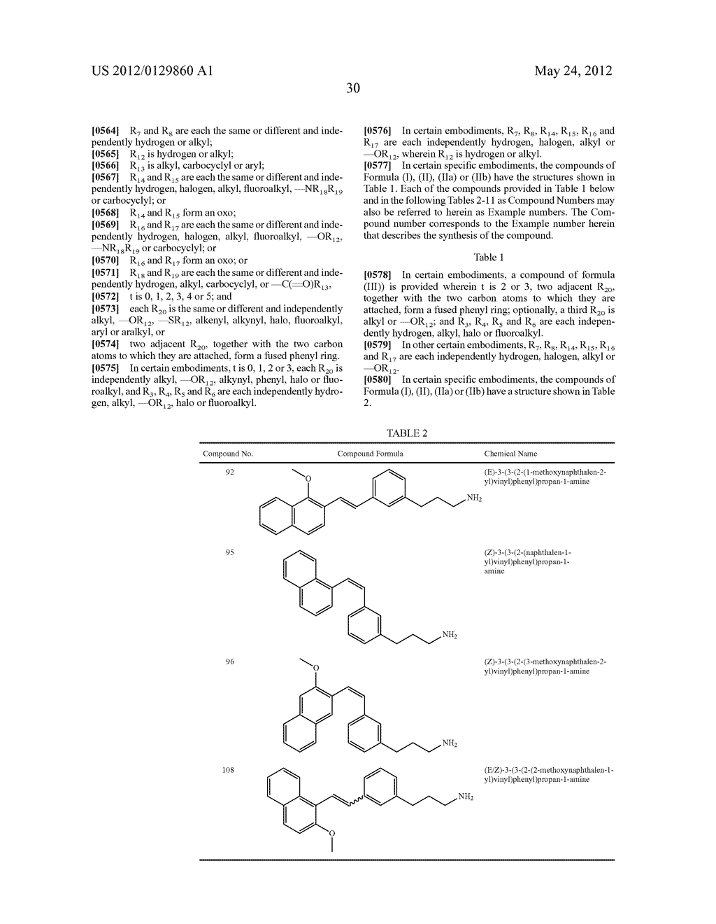 STYRENYL DERIVATIVE COMPOUNDS FOR TREATING OPHTHALMIC DISEASES AND     DISORDERS - diagram, schematic, and image 33
