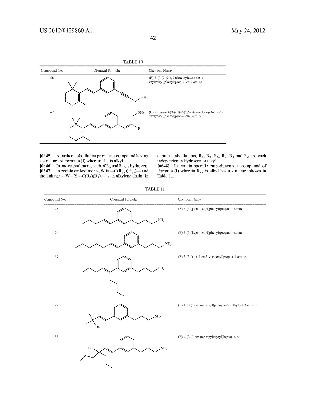 STYRENYL DERIVATIVE COMPOUNDS FOR TREATING OPHTHALMIC DISEASES AND     DISORDERS - diagram, schematic, and image 45