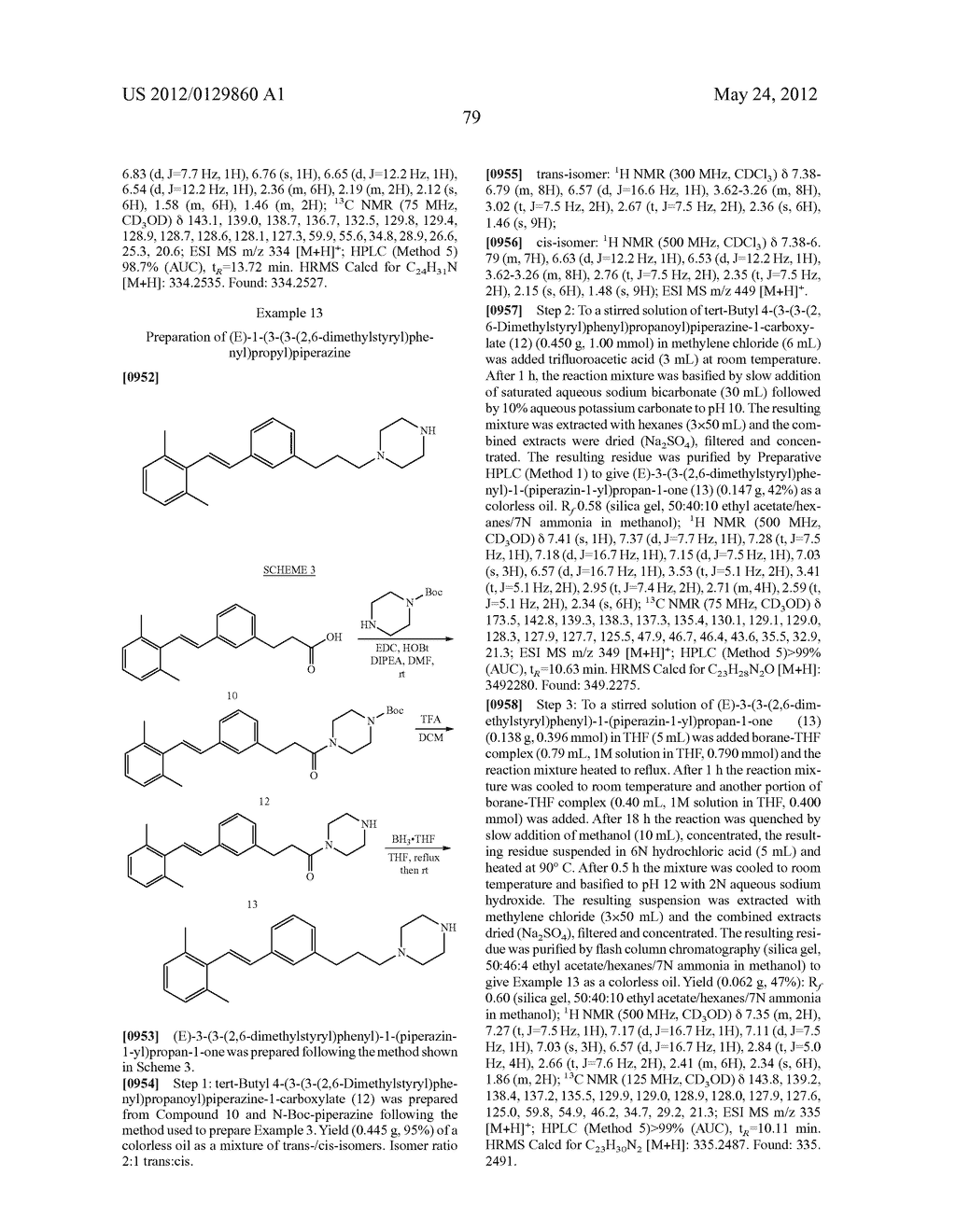 STYRENYL DERIVATIVE COMPOUNDS FOR TREATING OPHTHALMIC DISEASES AND     DISORDERS - diagram, schematic, and image 82