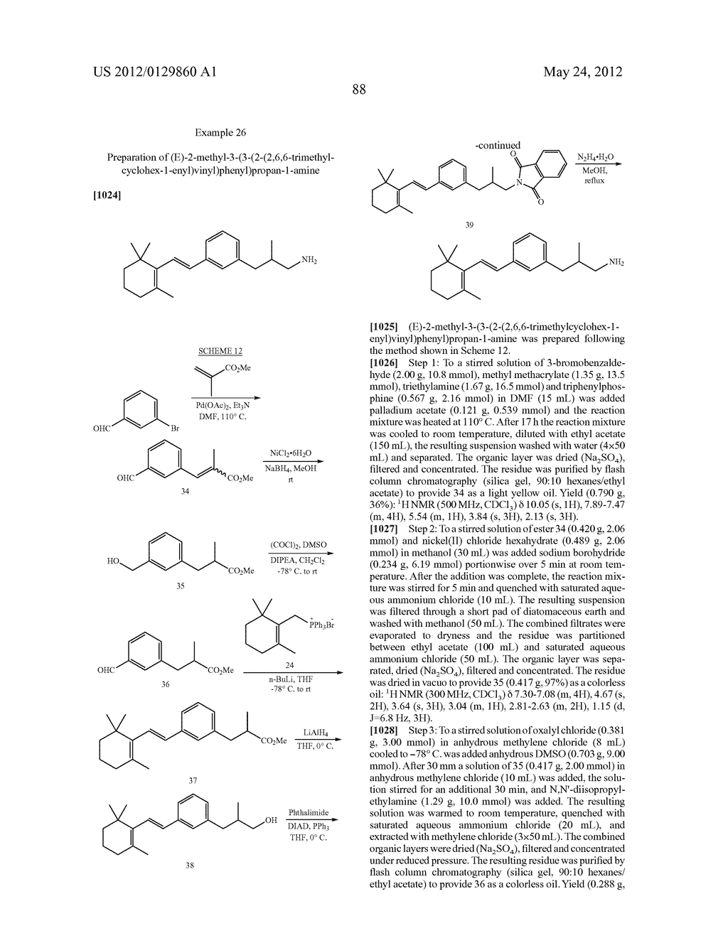 STYRENYL DERIVATIVE COMPOUNDS FOR TREATING OPHTHALMIC DISEASES AND     DISORDERS - diagram, schematic, and image 91