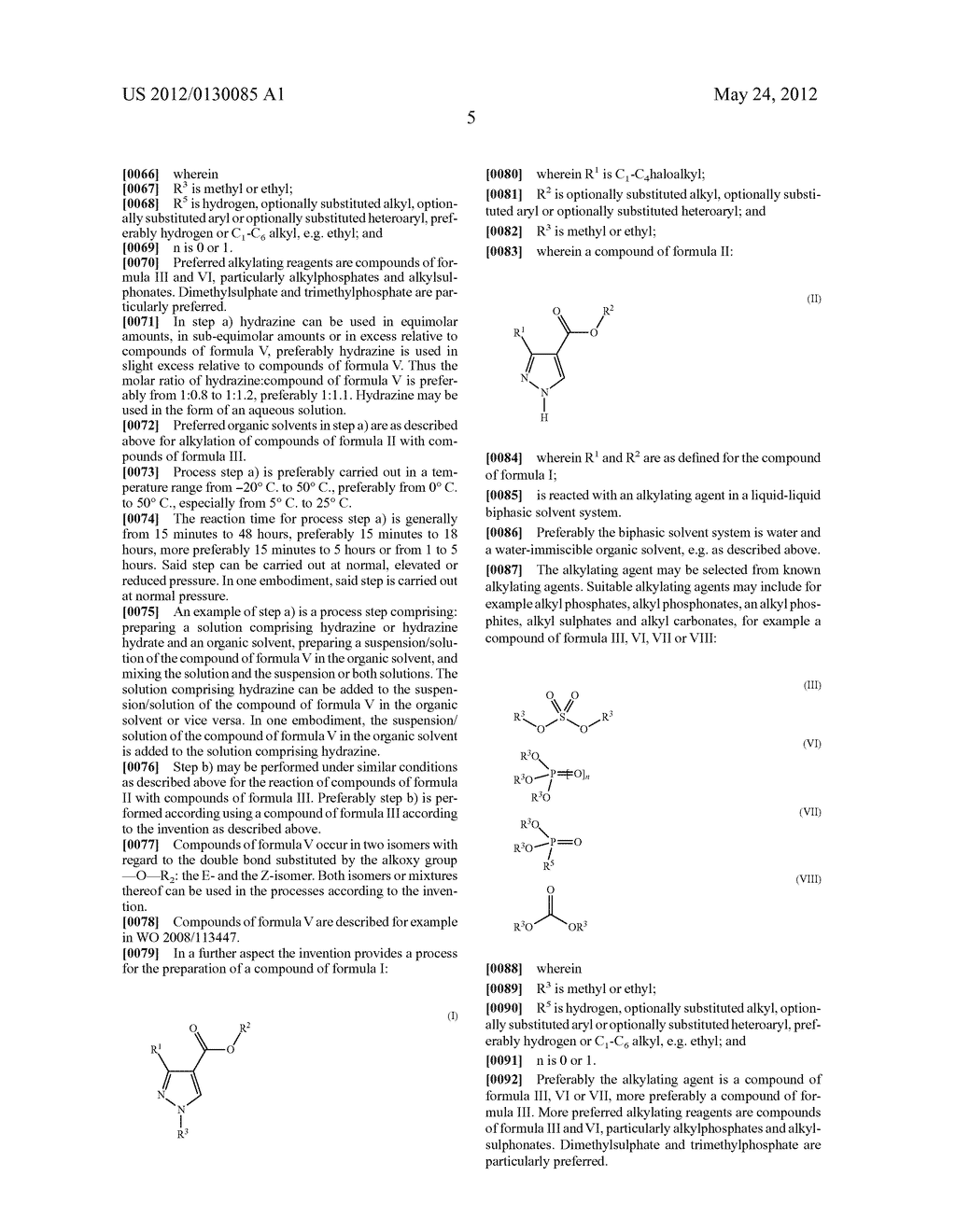 PROCESSES FOR THE ALKYLATION OF PYRAZOLES - diagram, schematic, and image 06
