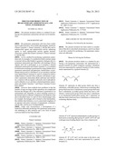 PROCESS FOR PRODUCTION OF BIS-QUATERNARY AMMONIUM SALT, AND NOVEL     INTERMEDIATE diagram and image
