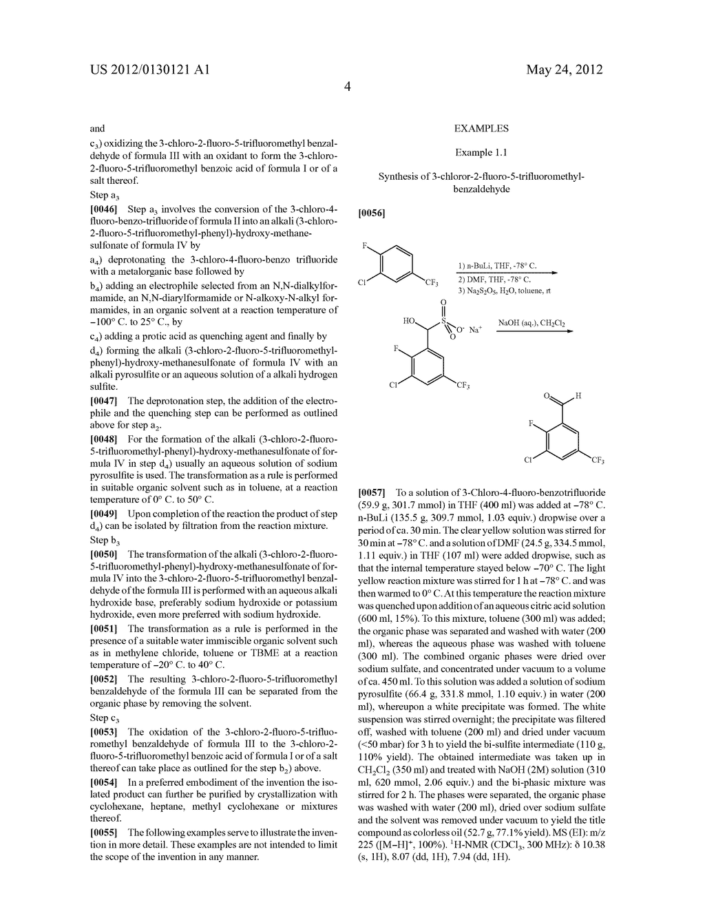 PROCESS FOR THE PREPARATION OF HALOGENATED BENZOIC ACID DERIVATIVES - diagram, schematic, and image 05