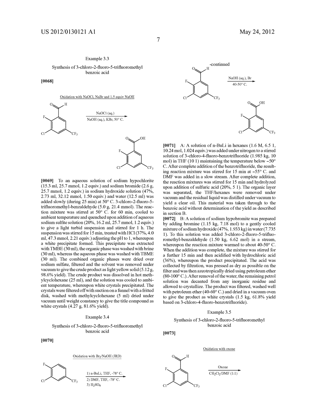 PROCESS FOR THE PREPARATION OF HALOGENATED BENZOIC ACID DERIVATIVES - diagram, schematic, and image 08