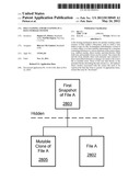 File Cloning and De-Cloning in a Data Storage System diagram and image
