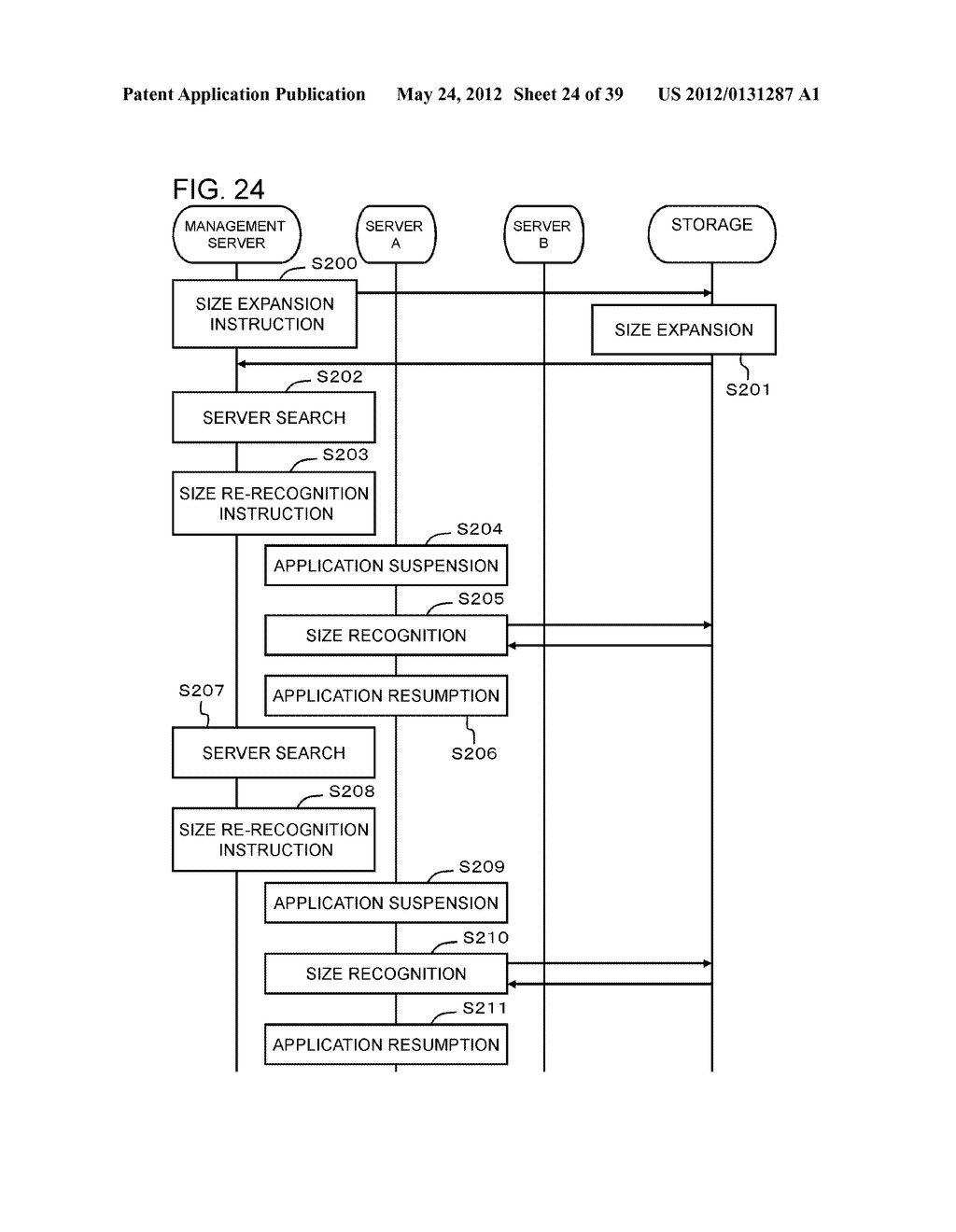 STORAGE CONTROL APPARATUS AND LOGICAL VOLUME SIZE SETTING METHOD - diagram, schematic, and image 25