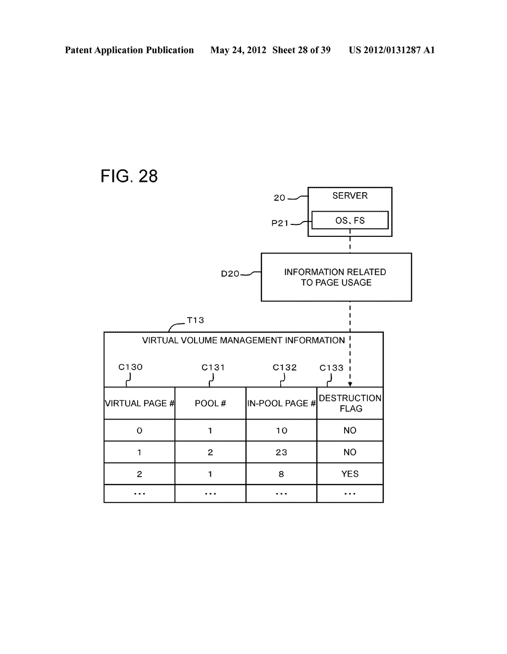 STORAGE CONTROL APPARATUS AND LOGICAL VOLUME SIZE SETTING METHOD - diagram, schematic, and image 29