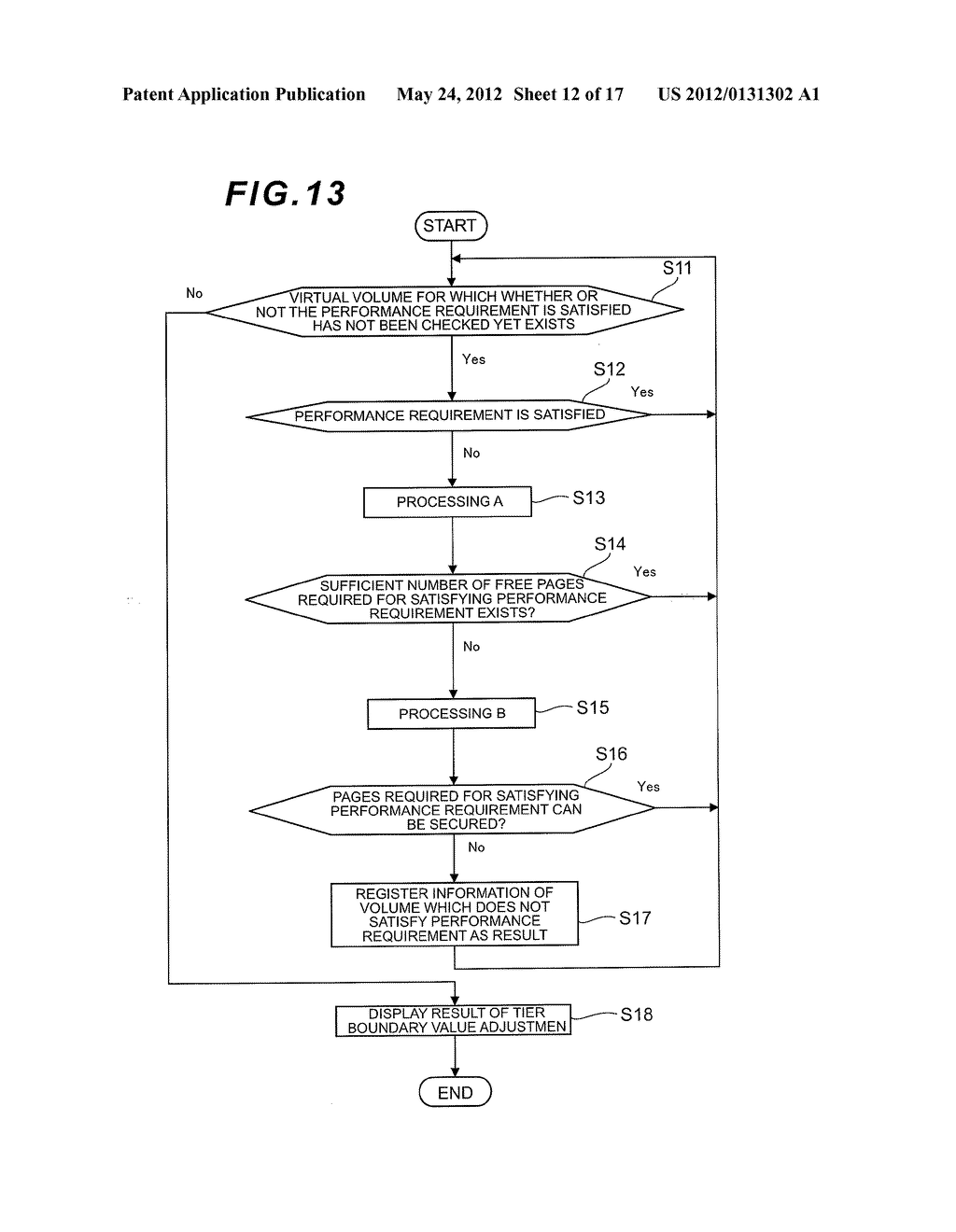 CONTROL METHOD OF VIRTUAL VOLUMES AND STORAGE APPARATUS - diagram, schematic, and image 13