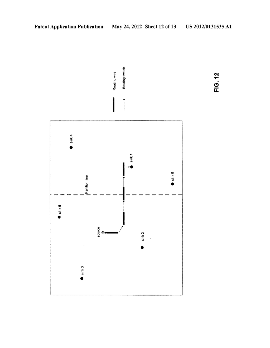 Method and Apparatus for Performing Parallel Routing Using a     Multi-Threaded Routing Procedure - diagram, schematic, and image 13