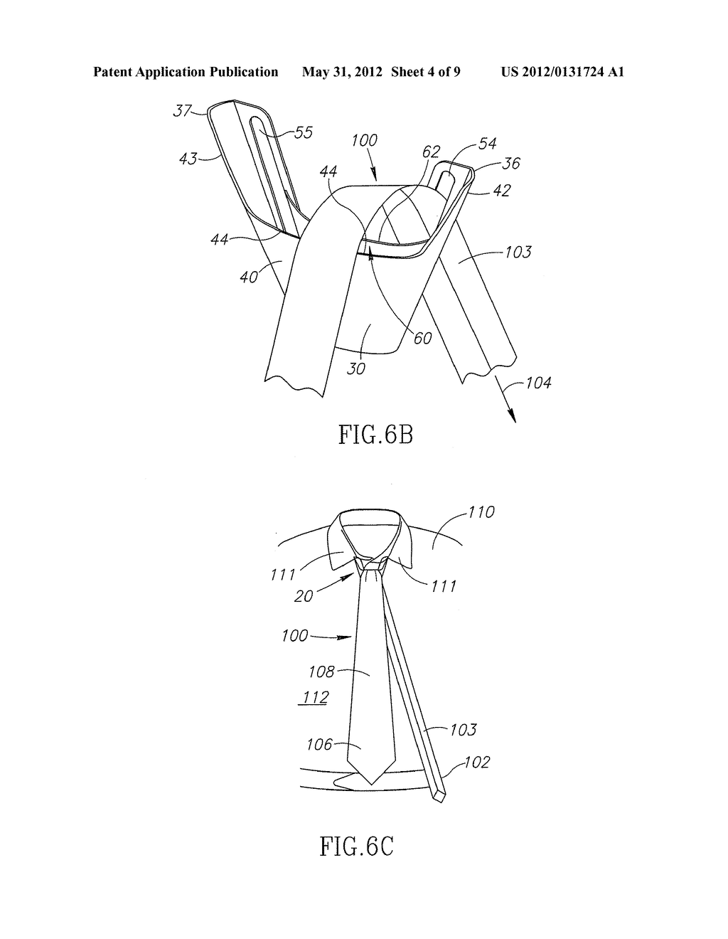 Apparatus and method for tying a necktie diagram schematic and apparatus and method for tying a necktie diagram schematic and image 05 ccuart Choice Image
