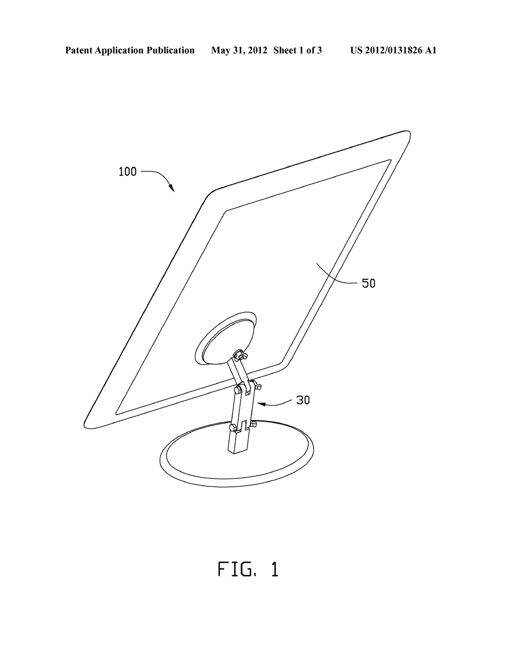 SUPPORT STAND AND DISPLAY DEVICE USING SAME - diagram, schematic, and image 02