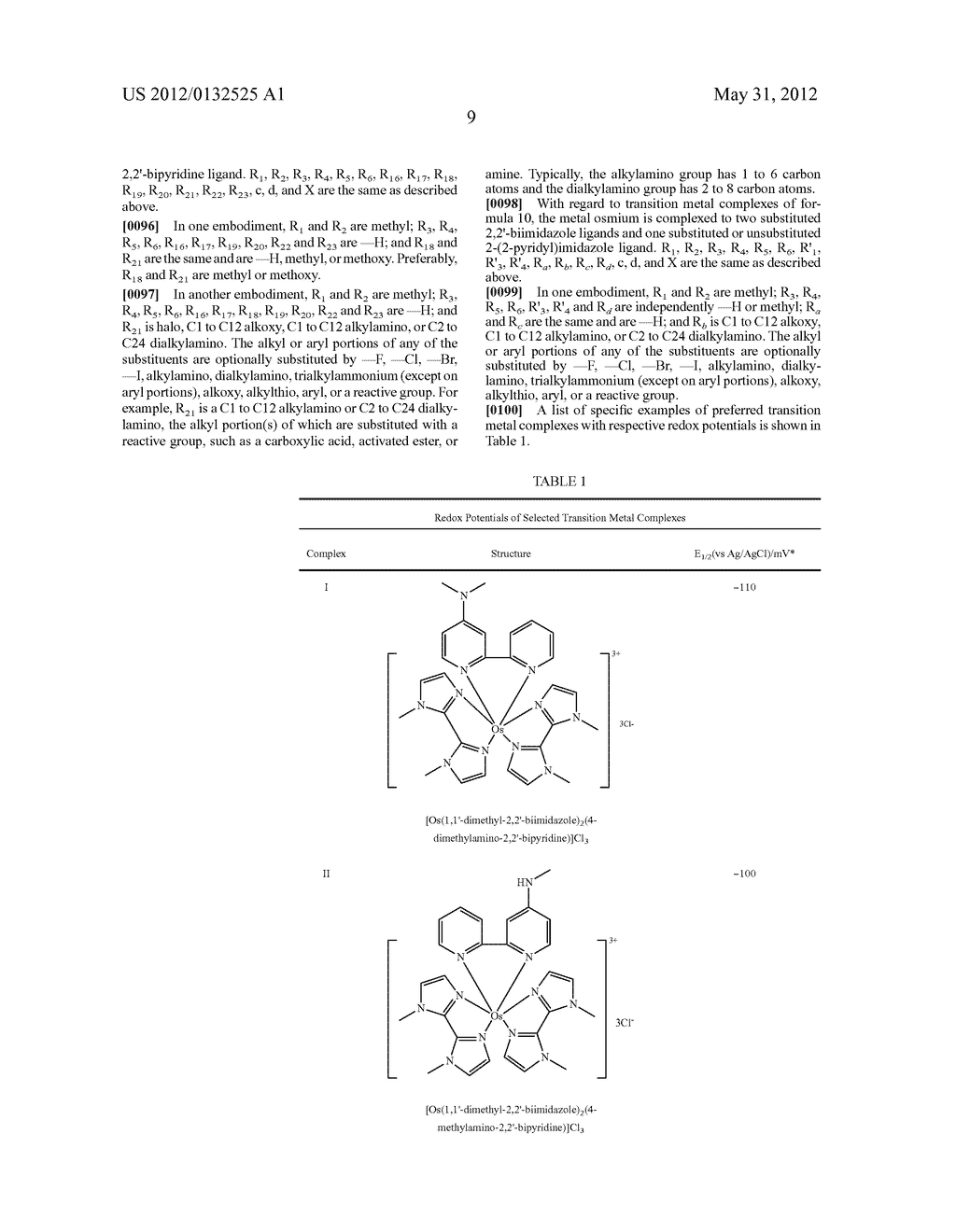 REDOX POLYMERS FOR USE IN ANALYTE MONITORING - diagram, schematic, and image 15