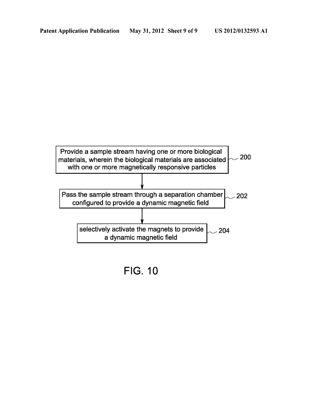 SYSTEMS AND METHODS FOR MAGNETIC SEPARATION OF BIOLOGICAL MATERIALS - diagram, schematic, and image 10